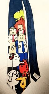 VTG Dilbert and GaNg tie